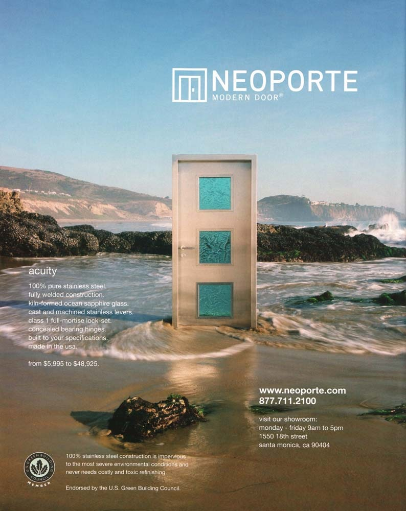 20071205-Neoporte-Door-Beach-from-Metropolitan-Home-Page- & Mysterious door appears on California beach : Rapidsea