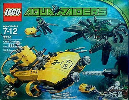Lego Aqua Raiders : Rapidsea