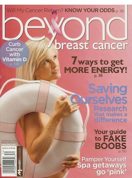 Beyond magazine breast cancer