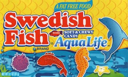 Swedish Fish AquaLife ~ Canadian sea creatures : Rapidsea