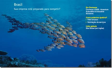 Accenture-Post-Tiger-Brazil-Brasil-School-of-Fish-Shark-Formation